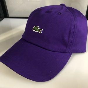new lacoste adjustable cap new